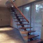 Trepp ja klaaspiire