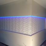 Seianpaneel, värvitud, LED valgustus