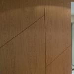Spoonitud seinapaneelid, tammespoon, õlitatud.Tangensiaalne spoon – on laia tekstuuriga