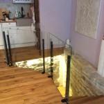 Klaasist trepipiire