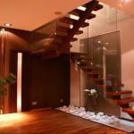 spoonitud siseuks klaasiga, trepp ja klaasist trepipiire