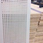 perforeeritud tulekindel kasevineer seina-ja laepaneel